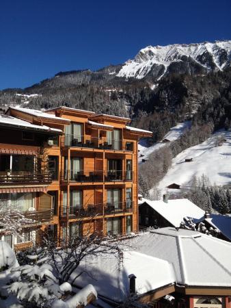 Hotel Silberhorn: Anbau Holz-100