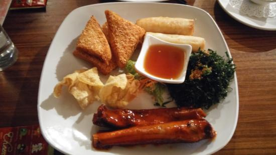 The East - Stanborough: Mixed Starters