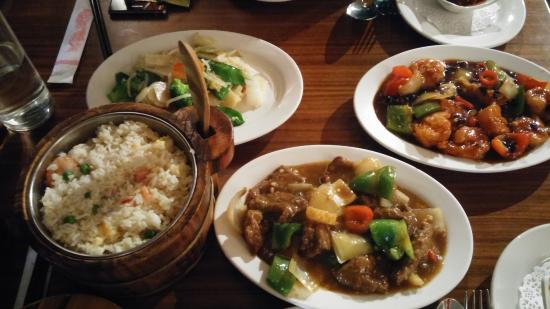 The East - Stanborough: Our choice of dishes from Set Meal A