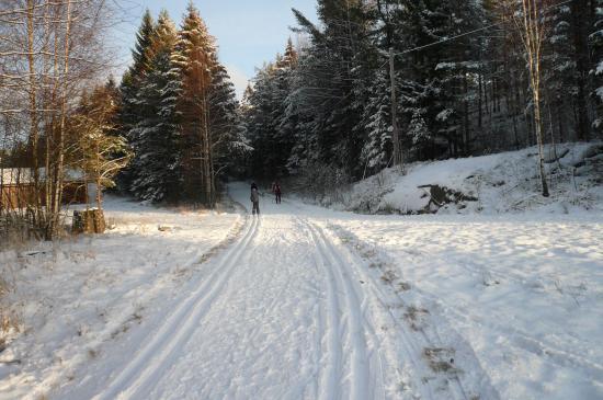 Fredrikstad kommune, Norge: Skiføre i marka