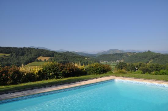 Orincles, Frankrike: pool view