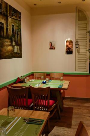 The Olive Garden Interior Decor