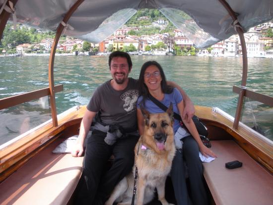 Agriturismo Il Talento Nella Quiete: gita in barca sul lago