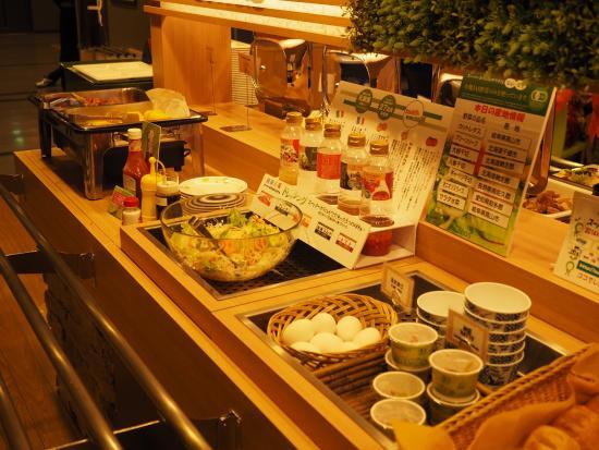 Super Hotel City Minamata: バイキング