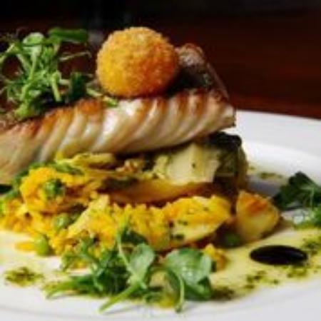 The Brasserie at Barnham Broom: Cinnamon Roasted Salmon