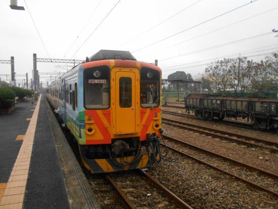 Ershui Station: 集集線の始発駅