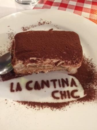 Cantina Chic: nice dessert