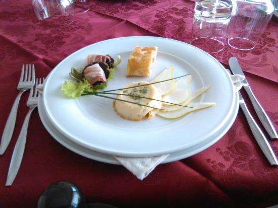 San Canzian d'Isonzo, Italien: Antipasto caldo di stagione