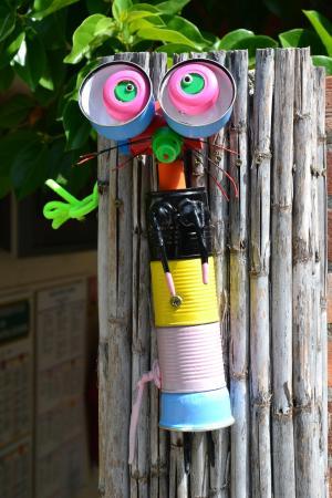 Camping Lou Pantai : des oeuvres artistiques un peu partout !