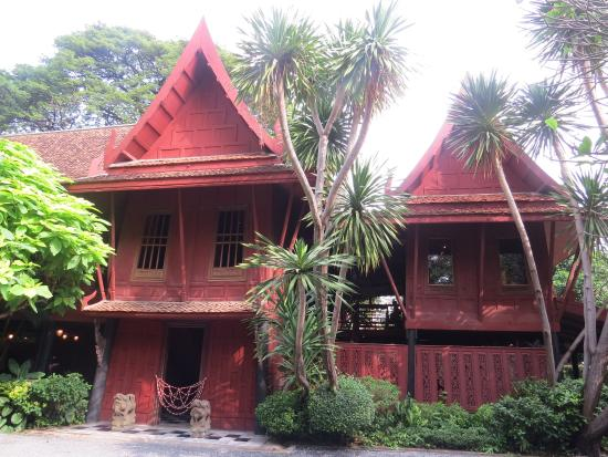 Silk thread - Picture of Jim Thompson House, Bangkok ...