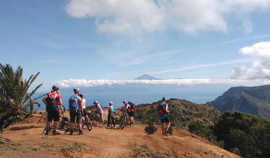 Valle Gran Rey, Spanien: view to teide