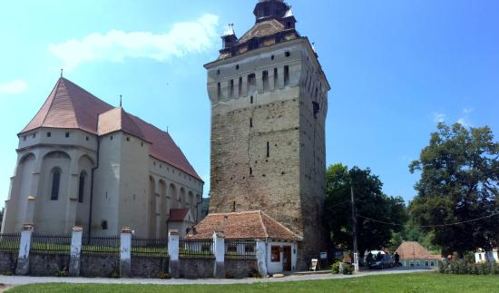 Saschiz, Rumania: Saxon Church