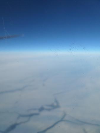Noroeste de Rusia, Rusia: Polo Norte rumbo Honk Kong desde New York