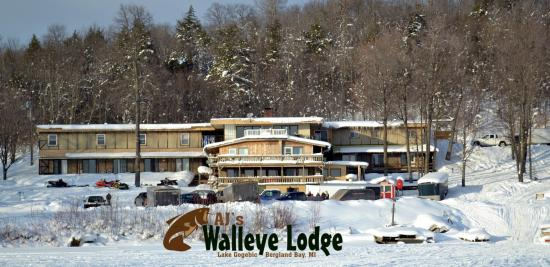 Bergland, MI: Walleye Lodge