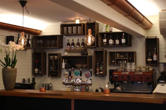 Skjern, Dania: Restaurant stuen th.