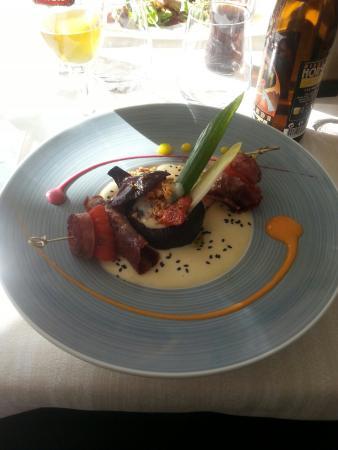Logis Grand Hotel du Parc: Repas tres bon
