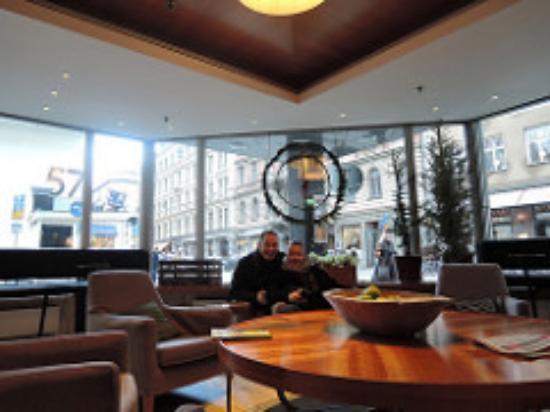 Mornington Hotel Stockholm City: Lobby area