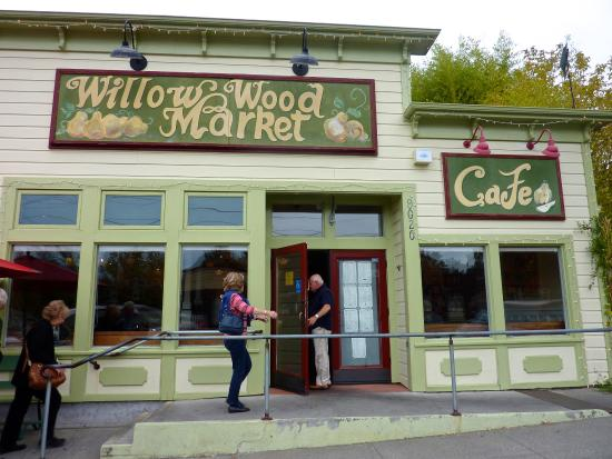 Graton, Californien: Willow Wood Cafe