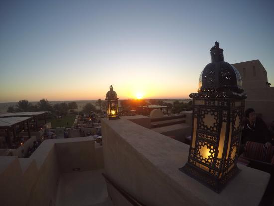 sunset picture of bab al shams desert resort spa dubai rh tripadvisor ca
