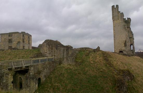 Helmsley, UK: taken from outer bailey