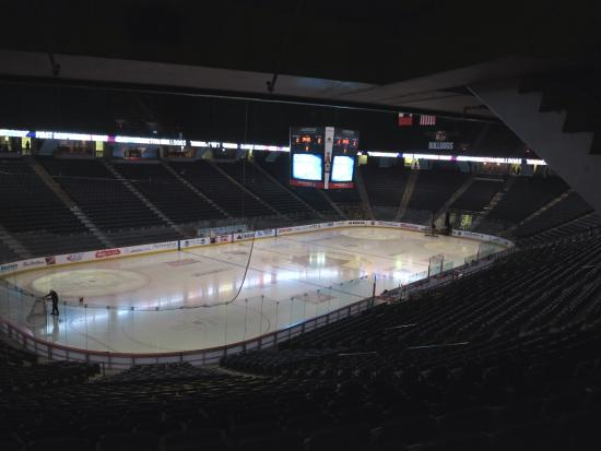 First Ontario Centre: Fresh ice for the game