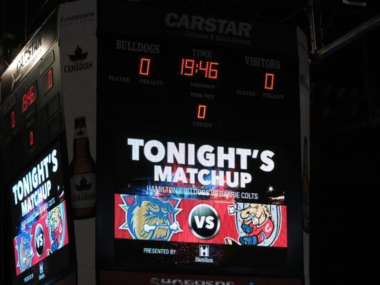 First Ontario Centre: Jr game