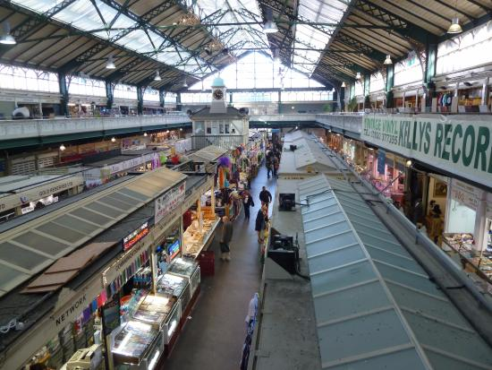 Mercado visto do segundo andar - Picture of Cardiff Indoor ...