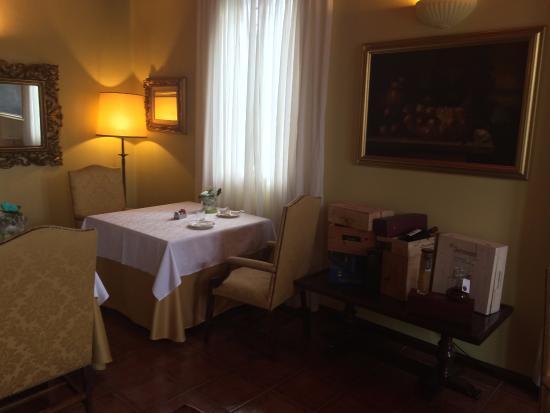Luzzara, Italia: Sala Colazione