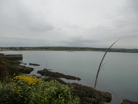 Ardmore, Irlandia: View from balcony