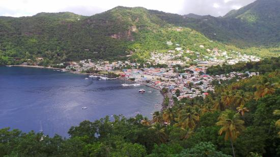 James Touring Service: On the way back to Castries from Soufriére.