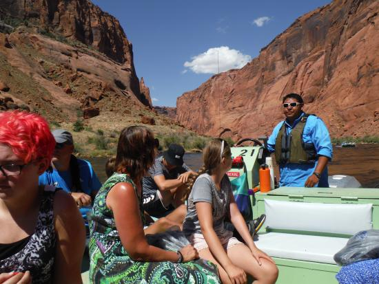 Colorado River Discovery >> Raft Ride Down The Colorado River Page Az Picture Of