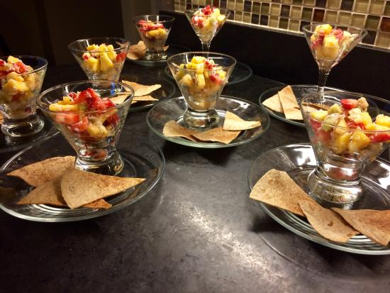 Coach Stop Inn Bed and Breakfast: Breakfast Prep