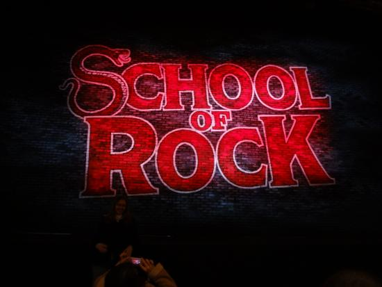 Front Of House Curtain Picture Of School Of Rock The Musical New
