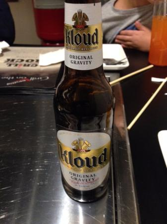 Buffalo Grove, IL : Kloud beer from Korea