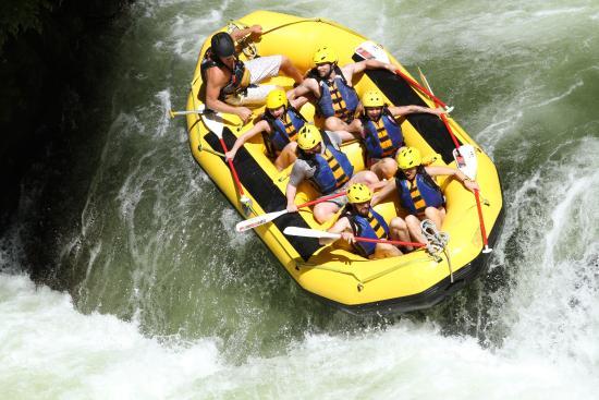 Okere Falls, Nueva Zelanda: first waterfall