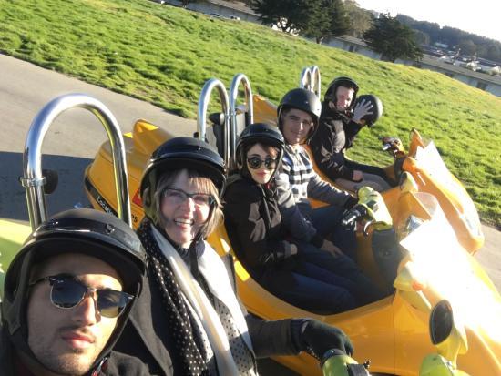 GoCar GPS Guided Tours : SF GoCars Jan 2016
