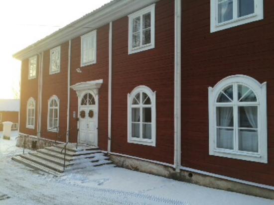Sätra Brunn Hälsobrunn : Omgivningar med små hus