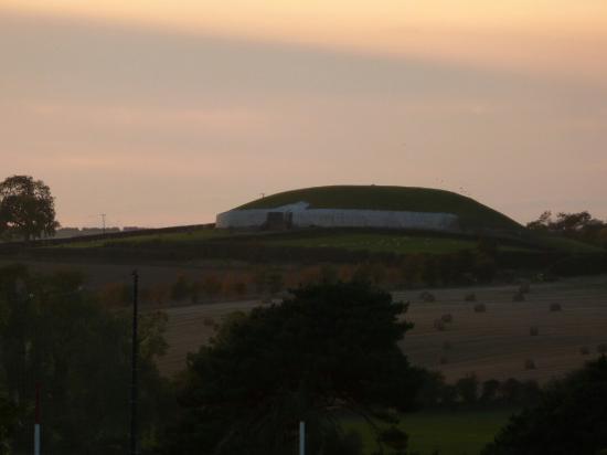 Newgrange lodge mit Sonnenuntergang nur der Backofen für Gäste war nicht so toll