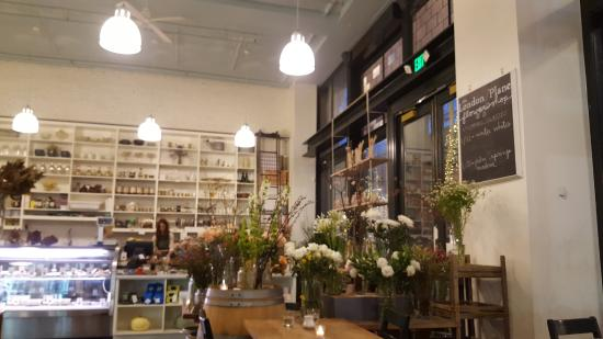 the london plane interior retail section of restaurant picture of