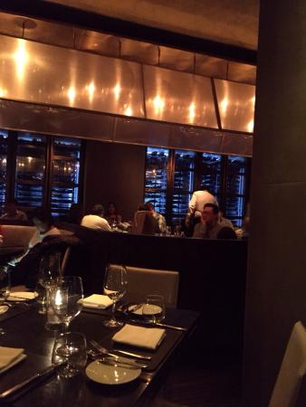 Scarpetta - The Cosmopolitan of Las Vegas : Beautiful view and amazing wall of wine!
