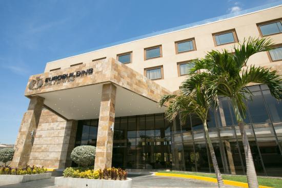 Eurobuilding Hotel & Suites Coro: Fachada Principal (Vista Este - Oeste)