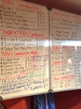 Iola, KS: Interior and menu