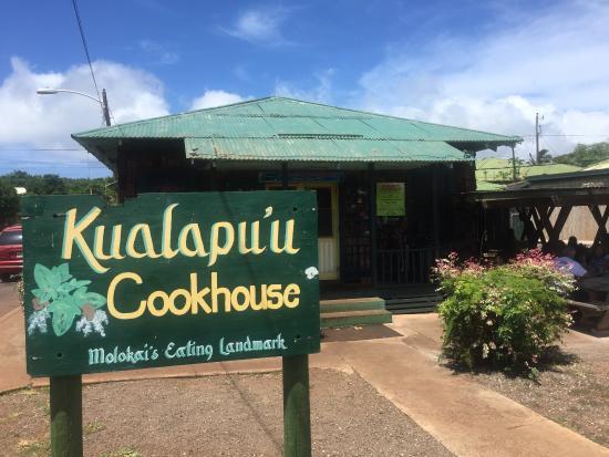 Kualapuu, Havai: Front door
