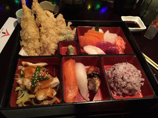 yummy fresh bento box picture of sushi ya japanese toronto tripadvisor. Black Bedroom Furniture Sets. Home Design Ideas