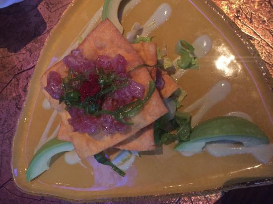 New Suffolk, NY: Tuna Tartar