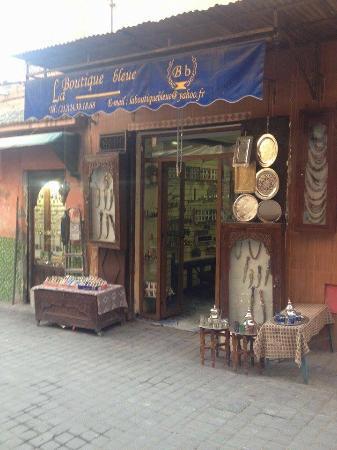 la boutique bleue