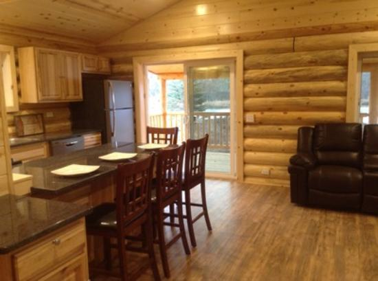Kasilof Cabins interior