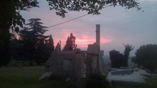 tramonto a Taino
