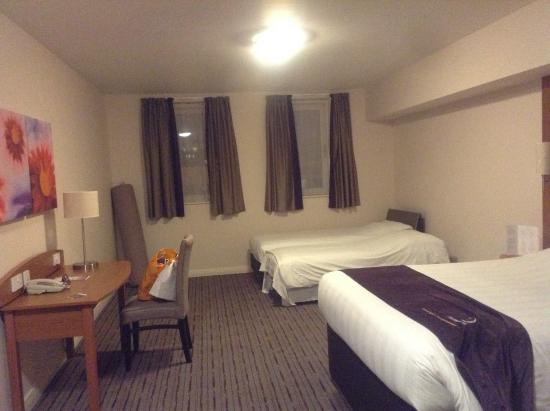 Premier Inn London Greenwich Hotel: My suite