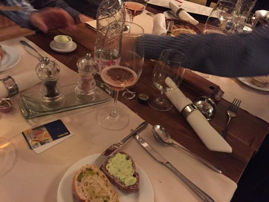 Villany, Hungria: Four course dinner